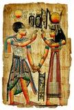Egyptische papyrus royalty-vrije stock foto