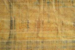 Egyptische papyrustextuur Royalty-vrije Stock Foto's