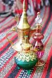 Egyptische parfumflessen stock fotografie