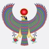 Egyptische pectoral valk royalty-vrije illustratie