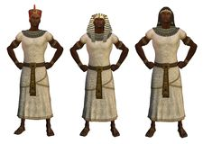 Egyptische Pharaohs vector illustratie