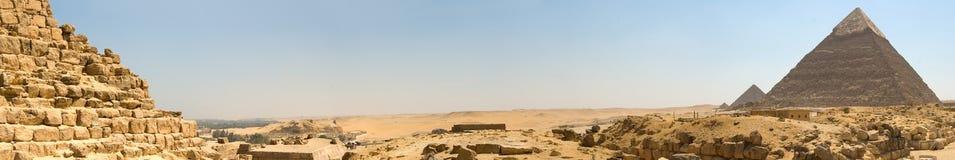 Egyptische Piramides Stock Foto's