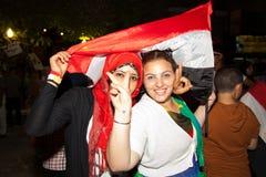 Egyptische revolutie Stock Fotografie
