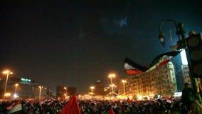 Egyptische revolutie stock footage