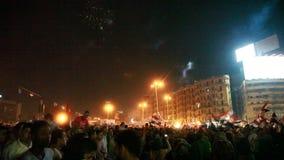 Egyptische revolutie 30 Juni stock videobeelden