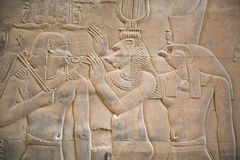 Egyptische scène royalty-vrije stock foto