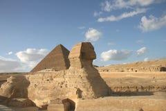 Egyptische sfinx Royalty-vrije Stock Foto