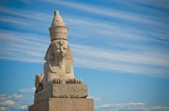 Egyptische sfinx, Heilige Petersburg Royalty-vrije Stock Foto's