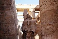 Egyptische standbeelden Royalty-vrije Stock Afbeelding