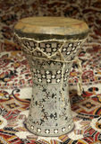 Egyptische Trommel Dumbek Stock Afbeeldingen