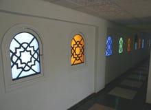 Egyptische vensters Stock Foto