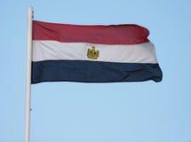 Egyptische vlag Stock Afbeeldingen