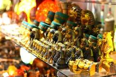 Egyptische winkel Stock Afbeelding
