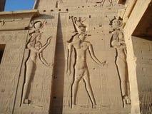 egyptisk fresca Royaltyfri Foto
