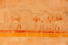 egyptisk fresco Arkivbilder