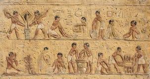 Egyptisk garnering arkivfoton