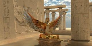 Egyptisk gudIsis stock illustrationer