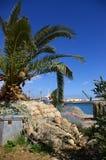egyptisk hamn Fotografering för Bildbyråer
