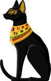 Egyptisk katt vektor illustrationer