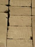 Egyptisk lättnad royaltyfri fotografi