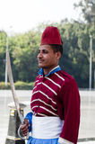 egyptisk militär soldatunknown arkivbild