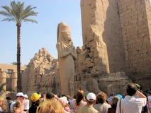 egyptisk monument Royaltyfria Bilder