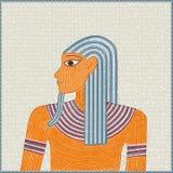 egyptisk mosaik Arkivfoto