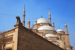 egyptisk moské Arkivbild