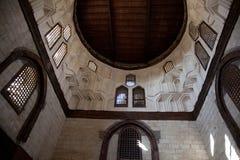 Egyptisk moské Windows arkivfoto