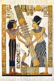egyptisk papyrus Royaltyfri Fotografi