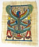 Egyptisk papyrus Arkivfoto