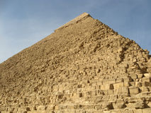 egyptisk pyramid Arkivfoto
