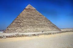 Egyptisk pyramid Arkivbild