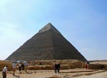 Egyptisk pyramidcloseup. Royaltyfri Bild