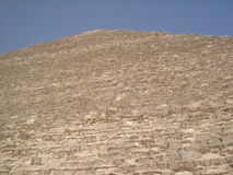 egyptisk pyramidsida Royaltyfria Bilder
