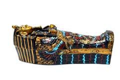 egyptisk sarkofag Arkivbild