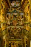 egyptisk sarkofag Arkivfoton