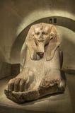 Egyptisk sfinx Arkivfoto