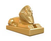 Egyptisk sfinxstaty Royaltyfri Fotografi