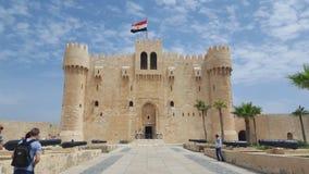 Egyptisk slott Arkivfoton