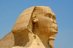 egyptisk sphinx Royaltyfria Foton