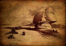 egyptisk sphinx Arkivbilder