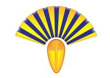 Egyptisk sphinx. stock illustrationer