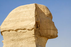 egyptisk sphinx Forntida civilisation av pharaohsna Royaltyfria Bilder