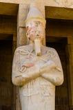 Egyptisk staty royaltyfria foton