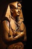 egyptisk staty Arkivbild