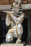 Egyptisk staty Arkivbilder