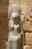 egyptisk staty Royaltyfri Fotografi