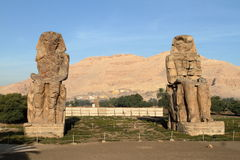 Egyptisk staty av pharaohsna Royaltyfri Bild