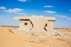 Egyptiska ökenplatser Arkivbild